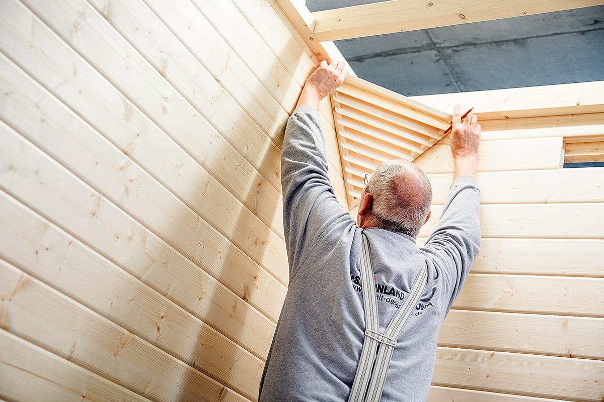 sie wollen eine sauna kaufen das holz ist entscheidend. Black Bedroom Furniture Sets. Home Design Ideas
