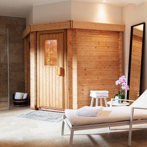 B+S Finnland Sauna Einbausauna Saunahersteller Luxus Sauna Design Sauna